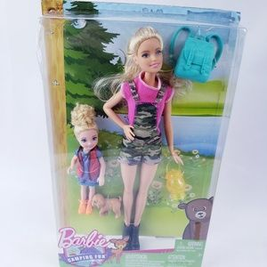 Barbie camping fun Chelsea set